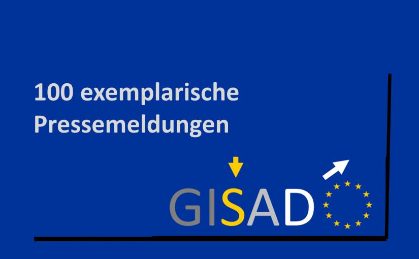 GISAD – Hundert exemplarische Medienberichte