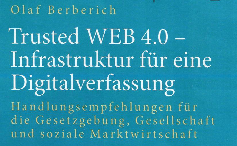 Neues Buch: Wir brauchen eine Infrastruktur für die Digitalverfassung